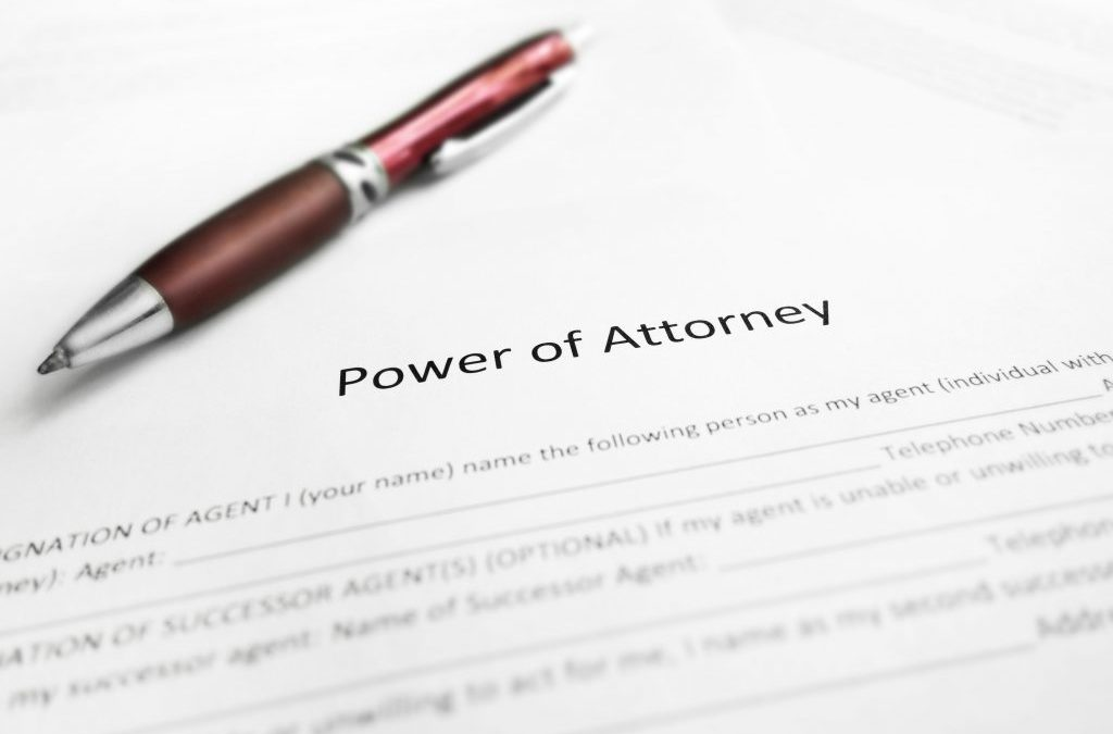 New Power of Attorney Law – Bullet Points